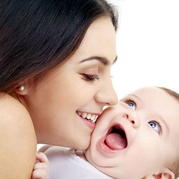 Mom's Saliva Can Strengthen Babies' Immune Systems