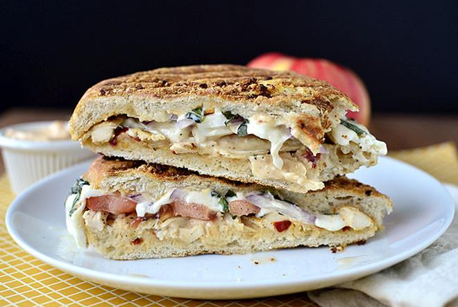 Pressed_Mozzarella_Tomato_Sandwich
