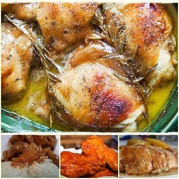 Honey Mustard Chicken Dishes