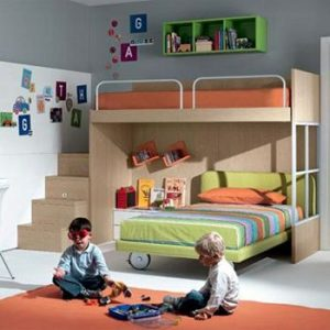 Shared Kids' Rooms Decoration
