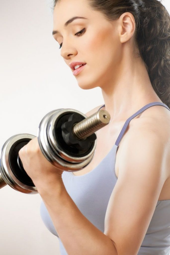 Exercise And Get Rid Of Arm Fat