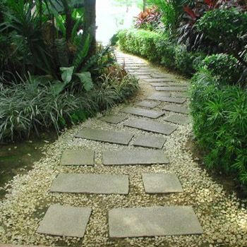 Beautiful Gardens with Pathways