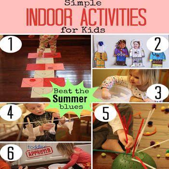 Best Indoor Games For Kids In Summer