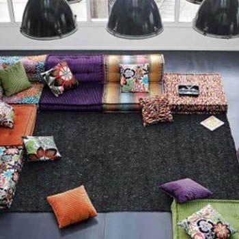 Colorful Sofa Decorating Ideas