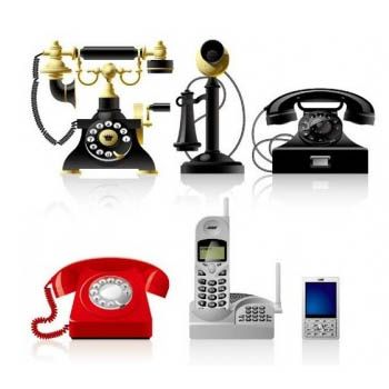 Decor Your Living Room with Stylish Telephones