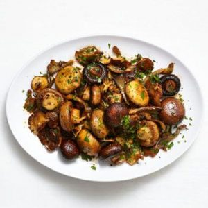 Enjoy You Dinner with Delicious Smoky Roasted Mushrooms Recipe