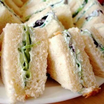 Fresh Cucumber Sandwich for Summer Tea Time
