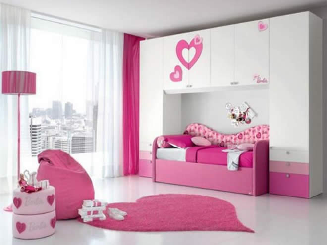 Pink Color Bedroom Pics