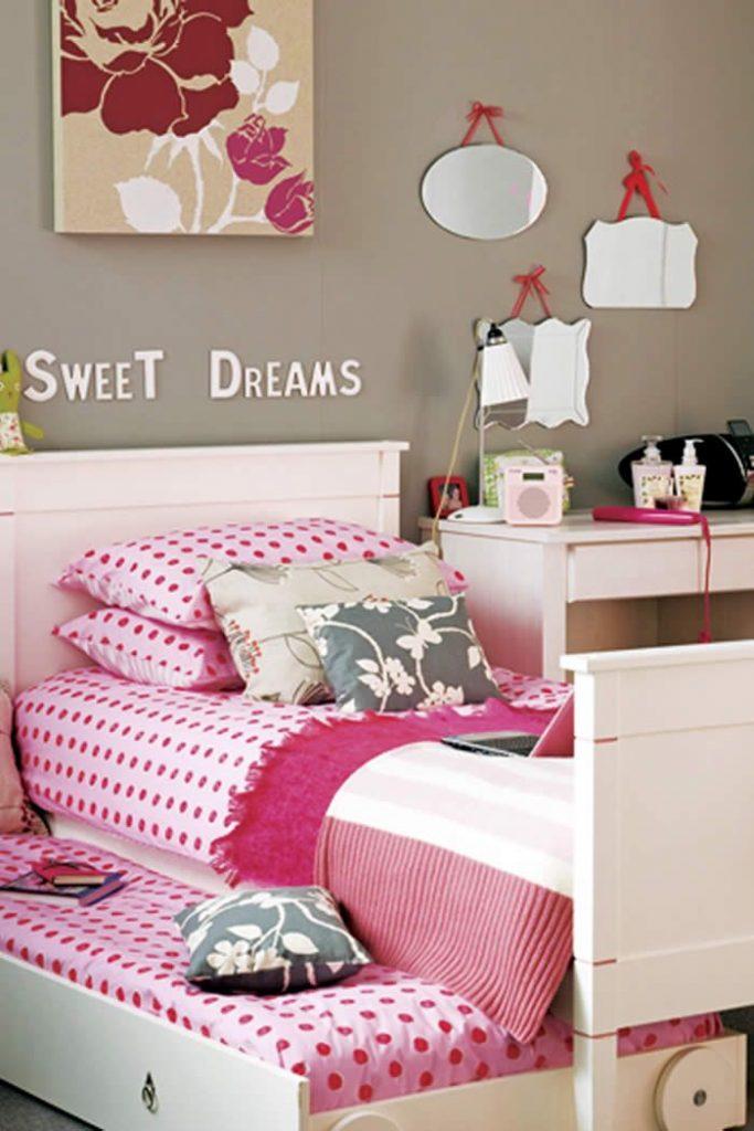 Teen Age Girls Bed Room Design Ideas