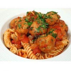 Italian Meat Balls With Luscious Tomato Sauce