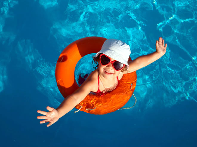summer pool pics