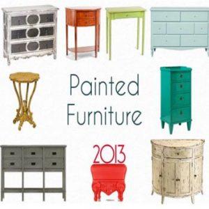 Painted Vintage Furniture Trend