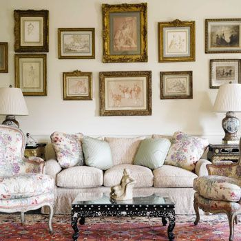 Paintings Reflect Mood of Your Drawing Room