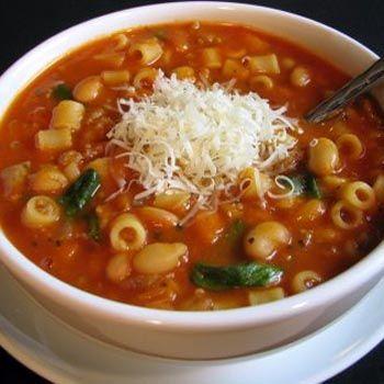 Italian Taste with Pasta e Fagioli