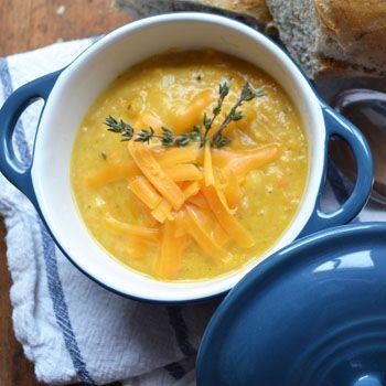 Potato and Cheese Soup Recipe