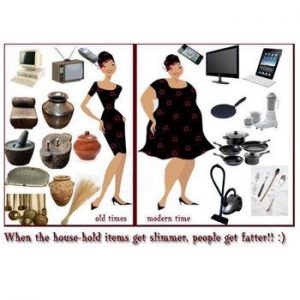 Smarter The Household Items Fatter The People