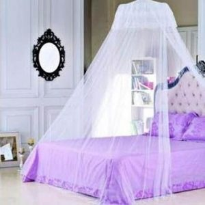 Use of Net to Prevent Mosquito as a Decoration