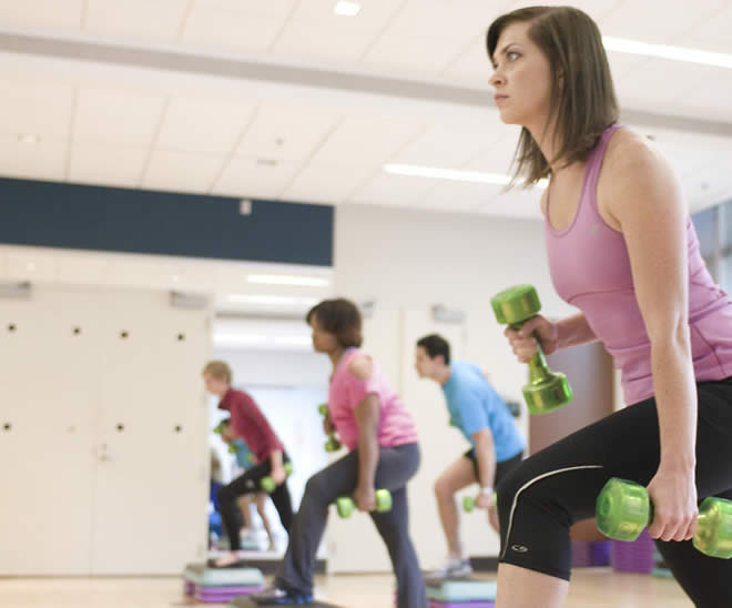 Aerobics Exercise Picture Gallery