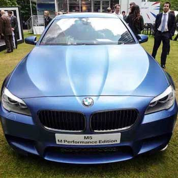 BMW M5 M Performance Edition at Motor Expo 2012