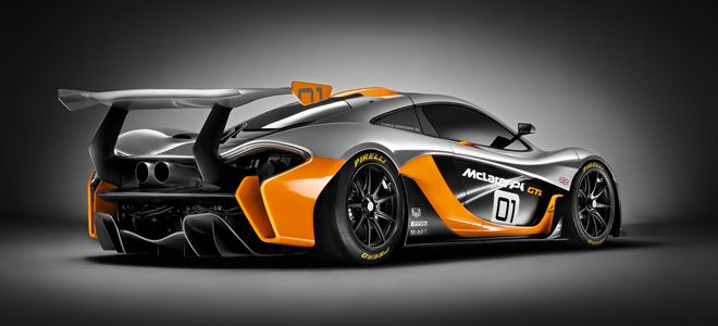Mclaren P1 Gtr Car Design Concept