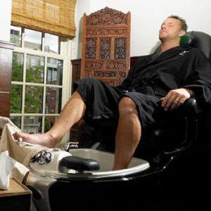 Medical Pedicure For Men