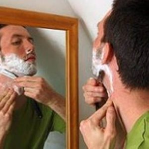 Homemade Barbershop Shave
