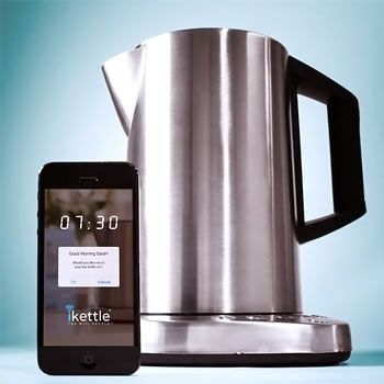 iKettle - Wifi Kettle Can Be Controlled Using Smartphone