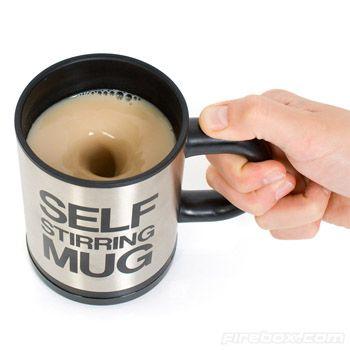 Self-Stirring Mug to Make You More Lazy Comfortable