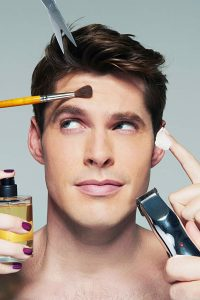 How to apply Makeup for Men