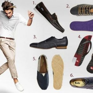 Men's Shoe Style: Beat The Heat In Style!