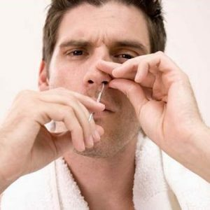 Men's Grooming: Removing Ingrown Nose and Ear Hair