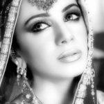 Pakistani fashion model tooba
