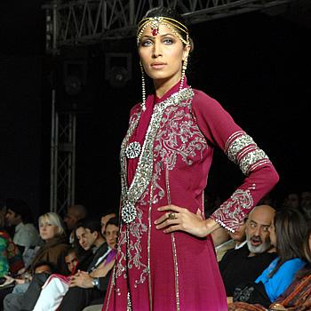 Vaneeza Ahmad Top Pakistani Fashion Models