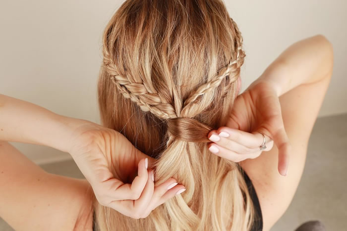 BRAID YOUR HAIR AT HOME