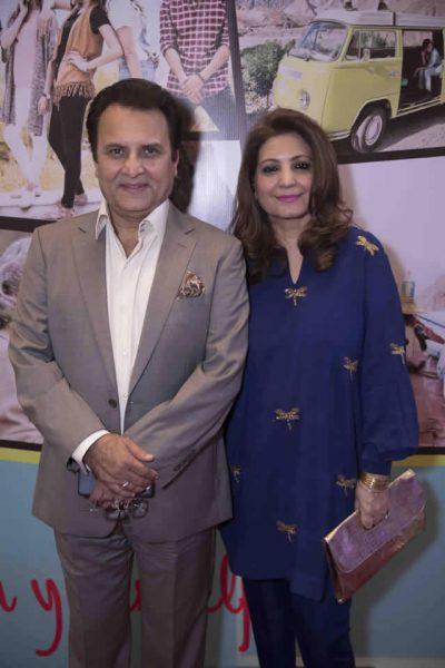 Behroze Sabzwari with Wife