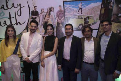 Chalay Thay Saath Film Cast Photo