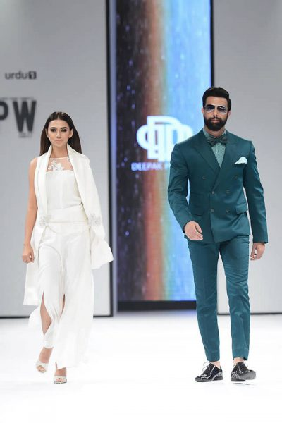 2017 Fashion Pakistan Week Deepak Perwani Latest Collection Images