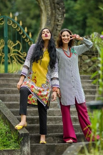Nishat Linen Summer Lawn collection 2017 Pictures