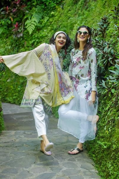 Nishat Linen Summer Lawn Dresses collection 2017