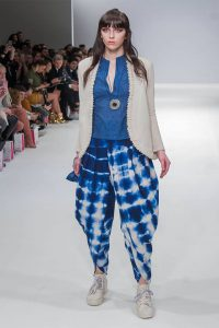 Sonya Battla at Fashion Scout London Fashion Week