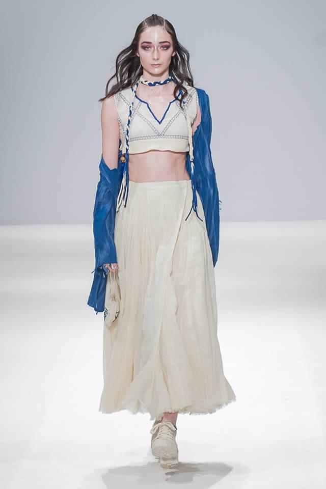 2017 London Fashion Week Sonya Battla Dresses Gallery