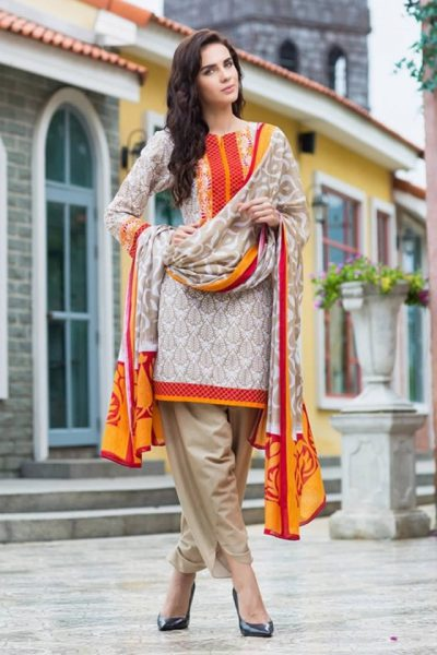 2017 Gul Ahmed Latest Summer Lawn collection Pics
