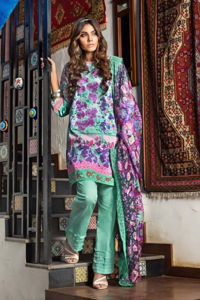 Gul Ahmed Summer Lawn collection 2017 Pics