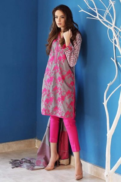 Gul Ahmed Summer Lawn collection 2017 Pictures
