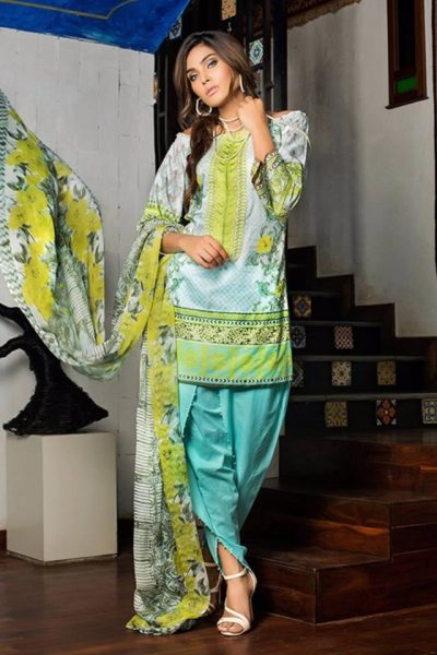 Gul Ahmed Summer Lawn collection 2017 Photos