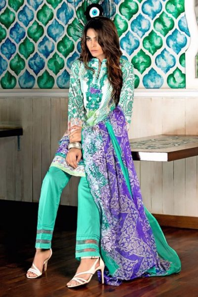 Gul Ahmed Summer Lawn collection 2017 Gallery