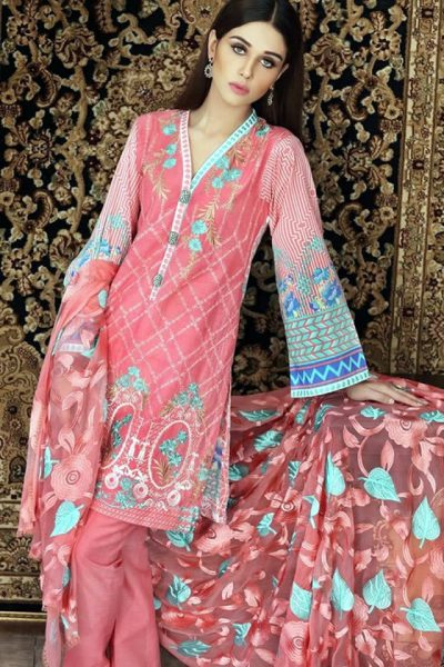 Gul Ahmed Summer Lawn Dresses collection 2017