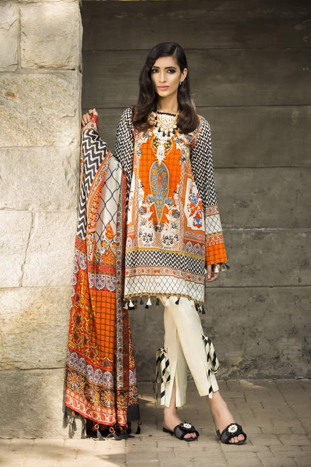 Sapphire Summer Lawn Dresses collection 2017 Images