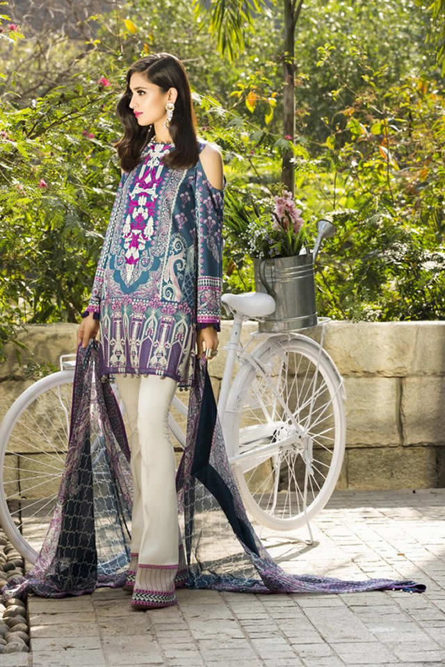 2017 Sapphire Summer Lawn collection Pictures
