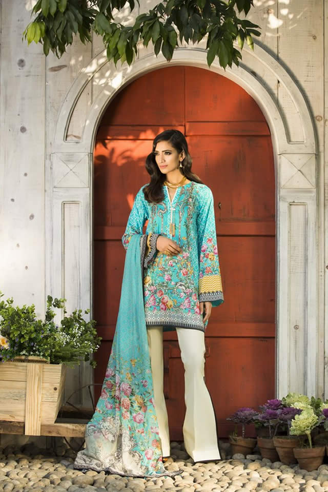 2017 Sapphire Summer Lawn collection Photos
